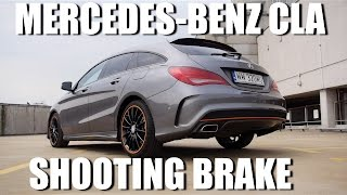 Mercedes-Benz CLA Shooting Brake (ENG) - Test Drive and Review