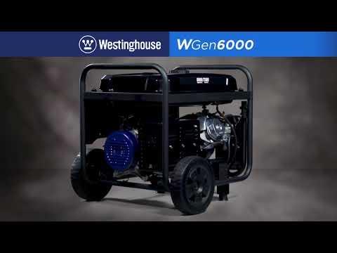 WGen6000 6,000-Watt Portable Generator