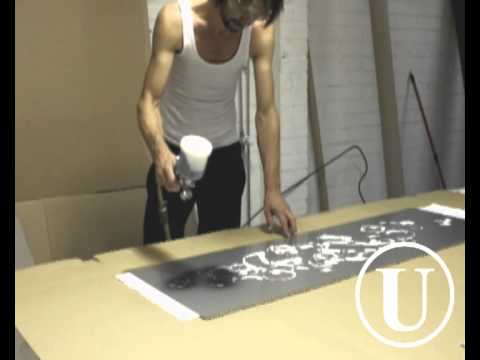 SPRAY tablecloth by USUALS_the making of