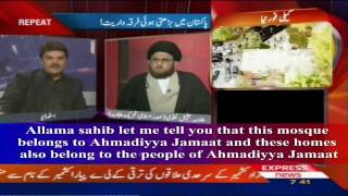 "Mullah Justifying Acts of Blasphemy by Pakistani Authorities ""Express TV Report"" With Eng. S/T"