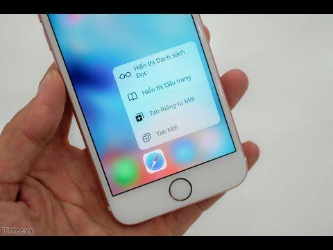 3D Touch trên iPhone 6S, 6S Plus
