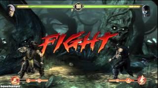 Mortal Kombat 9 'Scorpion vs Sub-Zero PS3 Demo Playthrough [3/4]' TRUE-HD QUALITY