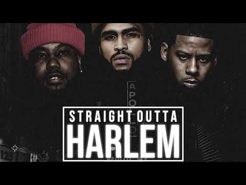"""NINO MAN X VADO X DAVE EAST """"Straight Outta Harlem"""" (OFFICIAL AUDIO)"""