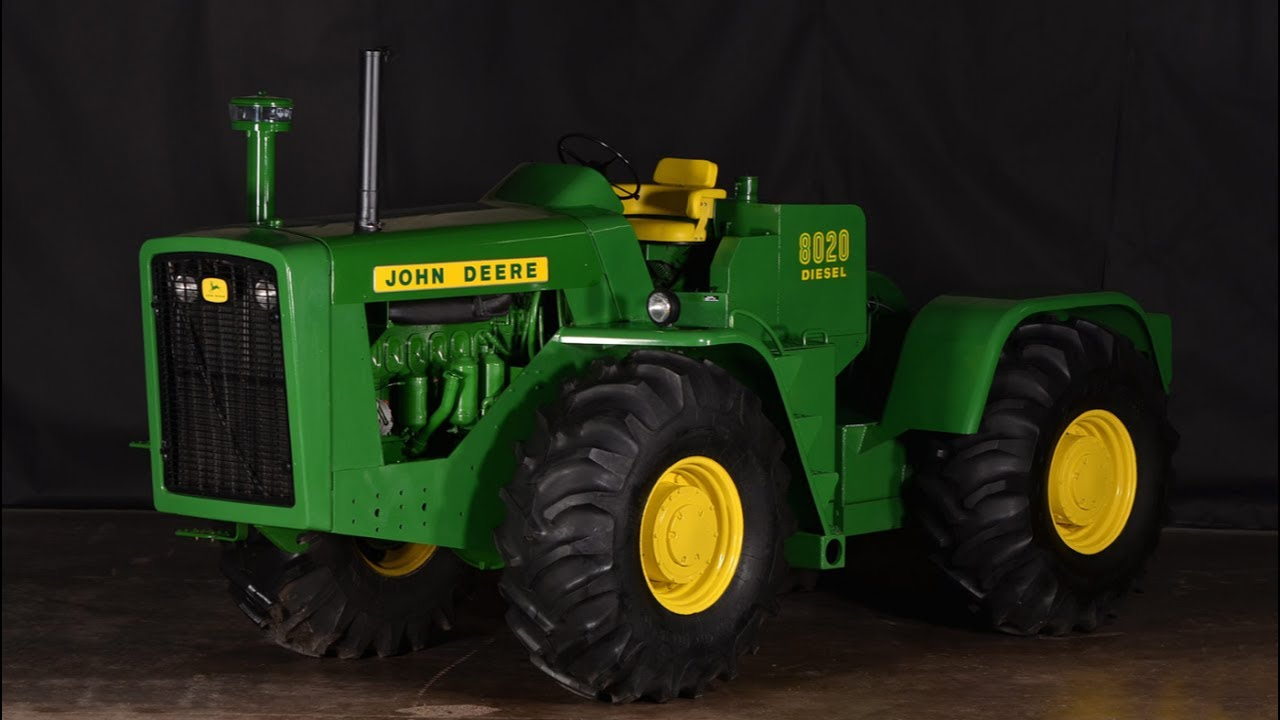 Rare 1964 John Deere 8020 Tractor Sold For 160 000 Today On Iowa Collector Auction Youtube