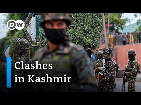 Violent clashes in Kashmir after Indian forces kill separatist leader | DW News