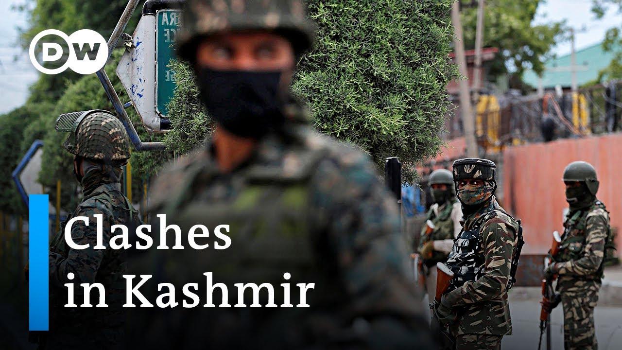Violent clashes in Kashmir after Indian forces kill seperatist leader | DW News