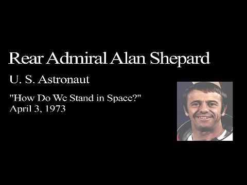 Landon Lecture | Alan Shepard - audio only