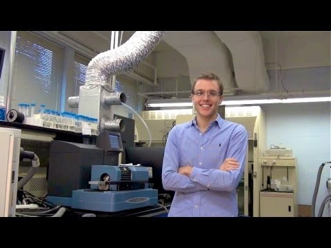 Water Quality and Wastewater Treatment, Environmental Engineering Graduate Student Coy McNew