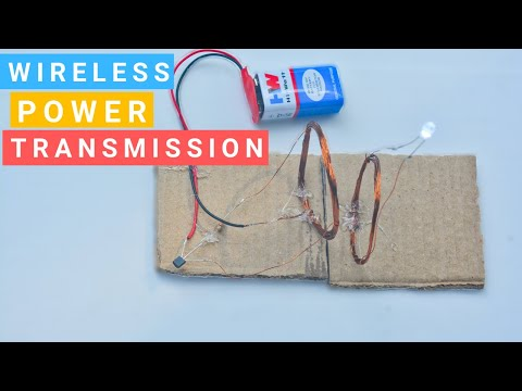How to Make Wireless Power Transmission Easy Way | Science
