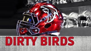 Atlanta Falcons Chrome Helmet || 2018 Dirty Bird Edition