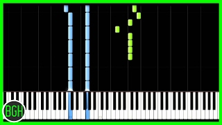 """""""Do You Want To Build A Snowman"""" Frozen - Piano Cover / Tutorial"""