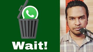 Wait! Don't Uninstall WhatsApp | Tamil | Madan Gowri | MG