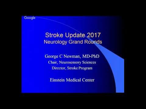 Grand Rounds 9/15/2017 Stroke Update