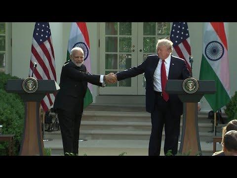 Trump and Modi: a tango