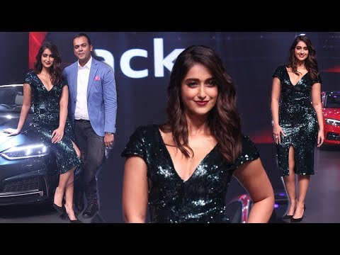 Ileana D'cruz Hot At Red Carpet Of Luxury & Fashion As Hello! & Audi