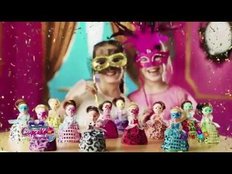 Cup Cake Surprise Masquerade Edition: Μασκέ Πάρτυ - 12 Σχέδια