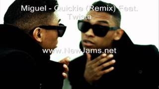 Miguel - Quickie (Remix) Feat. Twista (New Song 2011)