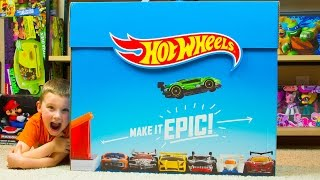Huge Hot Wheels Surprise Box with tons of Hot Wheels Toys Kinder Playtime