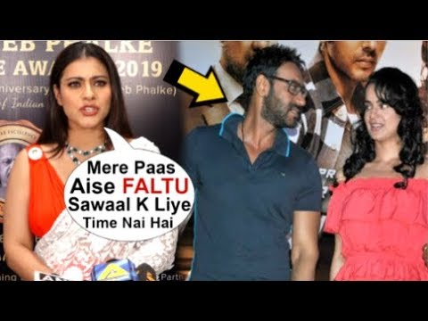Kajol's ANGRY Reaction On Hubby Ajay Devgan & Kangana Ranaut's FIGHT In Public