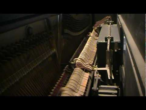 Chopsticks as played by Jo Ann Castle (QRS player piano roll CEL-102)