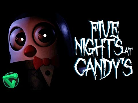 FIVE NIGHTS AT CANDY'S: ¡¿ERES TÚ, PUPPET?! - NOCHE 1| iTownGamePlay