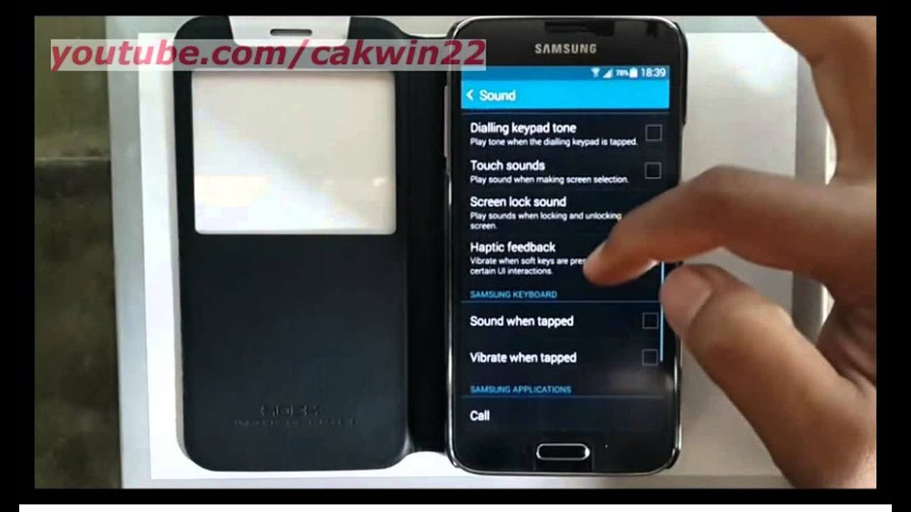 Samsung Galaxy S5 : How to turn on or turn off vibrate when answer (Android  Phone)