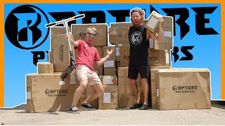 *UNBOXING* HUGE RAPTURE PRO SCOOTER BOXES