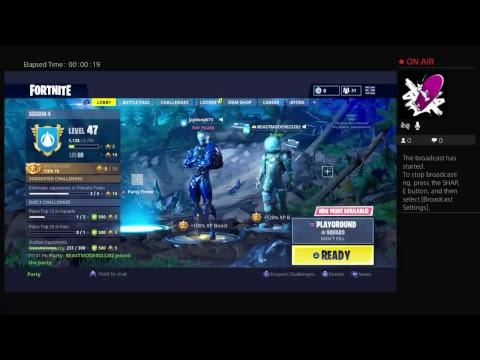 Fortnit play graned mode