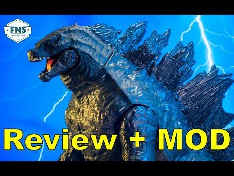 Jakks Pacific Giant Size Godzilla 2019 Review And MOD