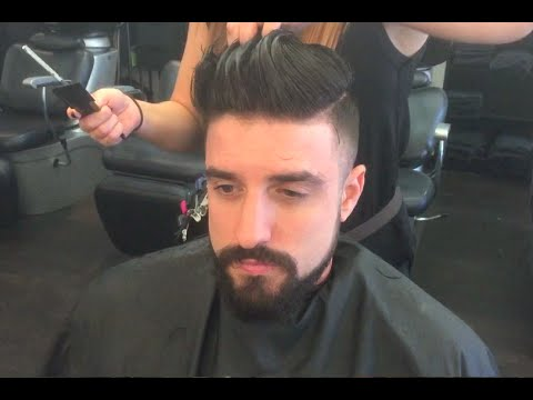 Men\'s Hairstyle 2015 | Classic Short Back and Sides - YouTube