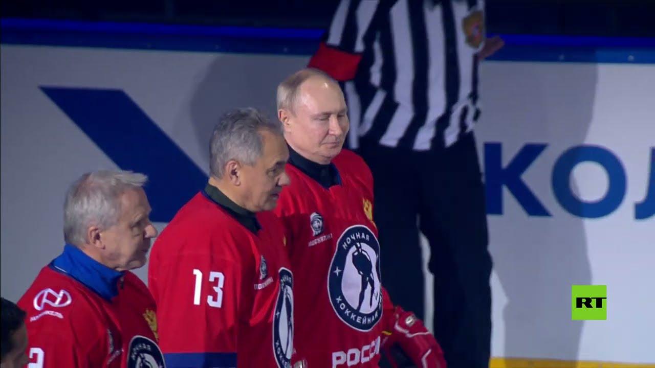 بوتين يشارك في مباراة لهوكي الجليد  - نشر قبل 5 ساعة