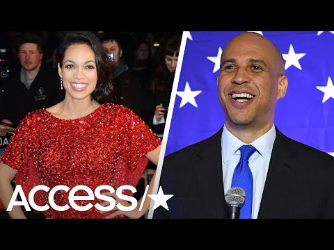 Roxy Romeo - Rosario Dawson Finally Sets the Record Straight Between Her & Cory Booker!