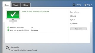 Test de Windows Defender