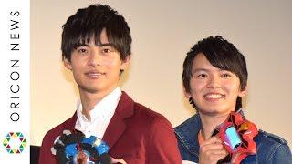 俳優の平田雄也、濱田龍臣が9日、都内で行われた映画『劇場版ウルトラマ...
