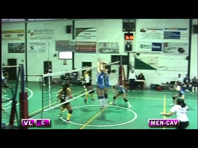 Spes Mentana vs Volley Cave - 3° Set