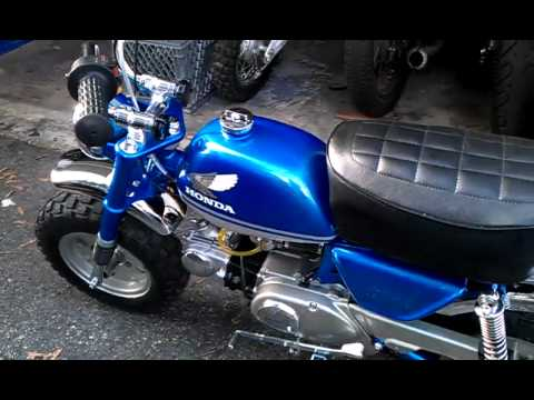 Honda z50 1973 motor youtube for Honda of cool springs