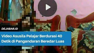 Video Asusila Pelajar Berdurasi 40 Detik di Pangandaran Beredar Luas