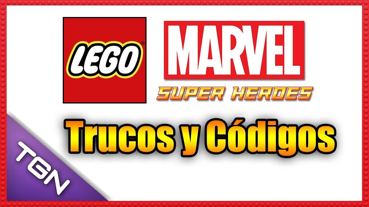 LEGO Marvel Super Heroes - Trucos y Códigos - HD 720p - YouTube