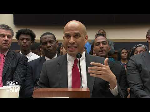 WATCH: Sen. Cory Booker says racial injustice is a 'cancer on the soul of our country'