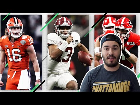 REACTING TO THE FIRST COLLEGE FOOTBALL AP POLL