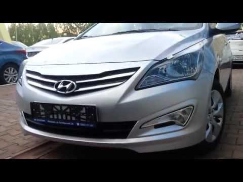 Рестайлинг Hyundai Solaris 2014