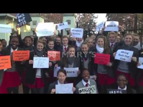 Johannesburg Schools' Bring Back Our Girls Protests