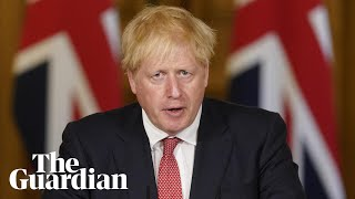 Boris Johnson holds press conference on new local lockdown measures – watch live