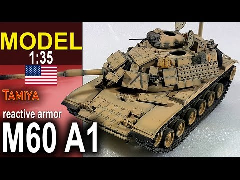 M60 A1 reactive armor Marine Corps - Tamiya 1/35