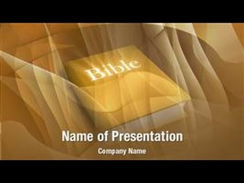 Holy Bible Powerpoint Video Template Backgrounds Digitalofficepro