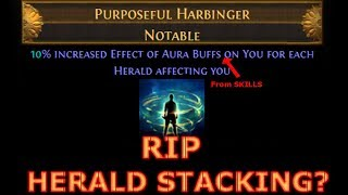 [Path of Exile] Purposeful Harbinger NERFED - Is Herald Stacking Dead?   3.10 Delirium