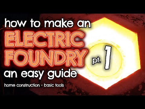 How to make an ELECTRIC Foundry for metal casting Part 1 by VegOilGuy