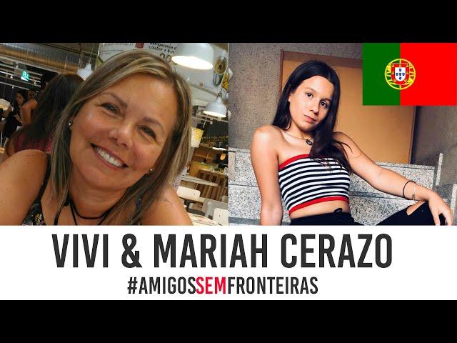 DIFERENÇAS entre BRASIL E PORTUGAL - Vivi Cerazo & Mariah Cerazo 🎙PODCAST Adriana Jarva #4