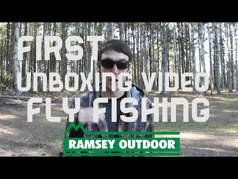 First Unboxing Video: Ramsey Outdoor Store Fly Fishing Tackle Unboxing