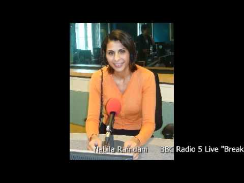 Nabila Ramdani - BBC Radio 5 Live - Breakfast - Rebel forces take Tripoli - 22 August 2011